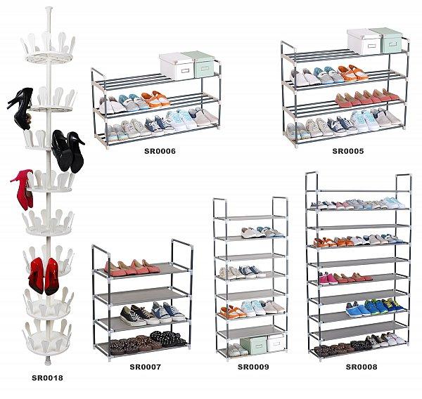 3 4 8 10 schicht schuhablage schuhregal schuhst nder xl. Black Bedroom Furniture Sets. Home Design Ideas