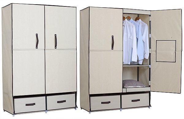 kleiderschrank textil bestseller shop f r m bel und einrichtungen. Black Bedroom Furniture Sets. Home Design Ideas
