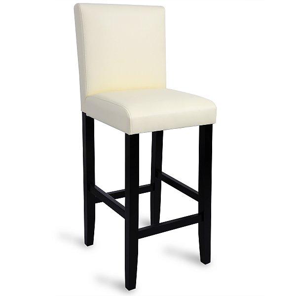 barhocker barstuhl 1 x tresenhocker mit lehne hocker massivholz nrw. Black Bedroom Furniture Sets. Home Design Ideas