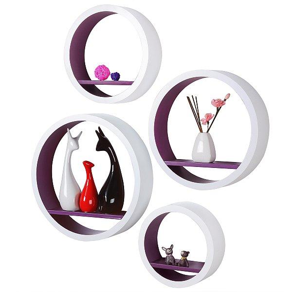 regal rund lila interessante ideen f r die. Black Bedroom Furniture Sets. Home Design Ideas