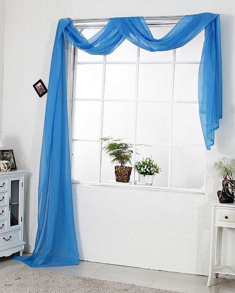 querbehang raumteiler bergardinen gardinen vorh nge fensterschal voile 306 ebay. Black Bedroom Furniture Sets. Home Design Ideas