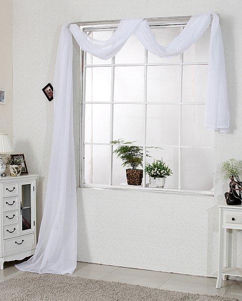 querbehang bergardine gardine vorhang dekoschal raumteiler fensterschal 306 ebay. Black Bedroom Furniture Sets. Home Design Ideas