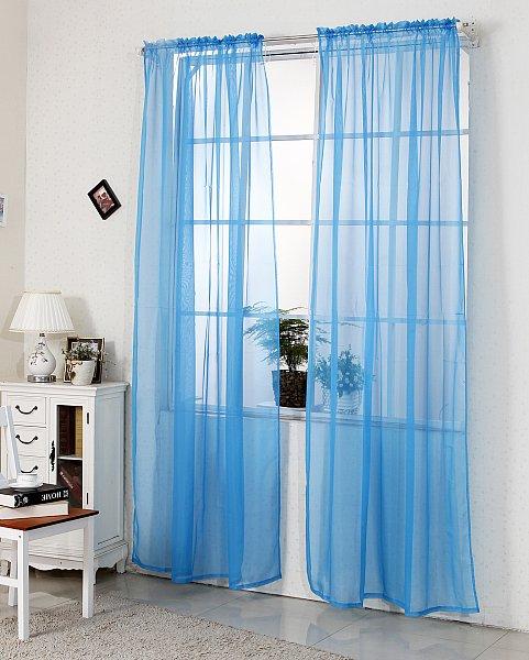 gardinen vorhang stores mit 50mm kr uselband transparent dekoschal voile 305 ebay. Black Bedroom Furniture Sets. Home Design Ideas