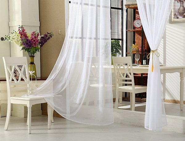 gardinen vorhang stores mit 50mm kr uselband transparent. Black Bedroom Furniture Sets. Home Design Ideas