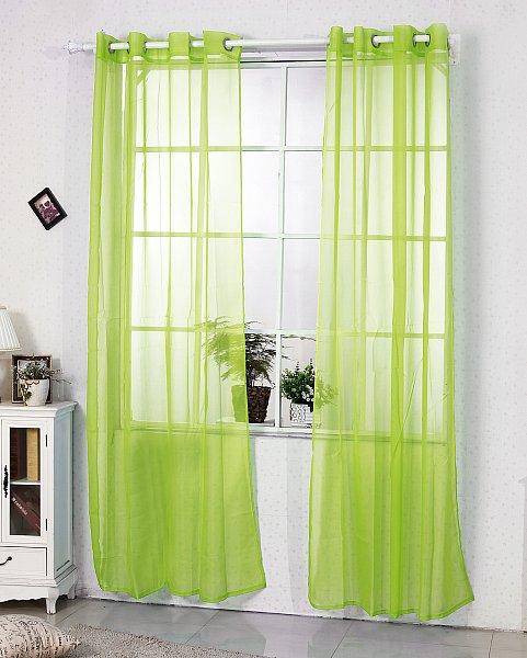 Gardine senschal transparent vorhang mit sen 140x225 for Osenvorhang kinderzimmer