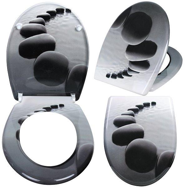 wc sitz toilettendeckel duroplast absenkautomatik toilettensitz klodeckel 27 ebay. Black Bedroom Furniture Sets. Home Design Ideas