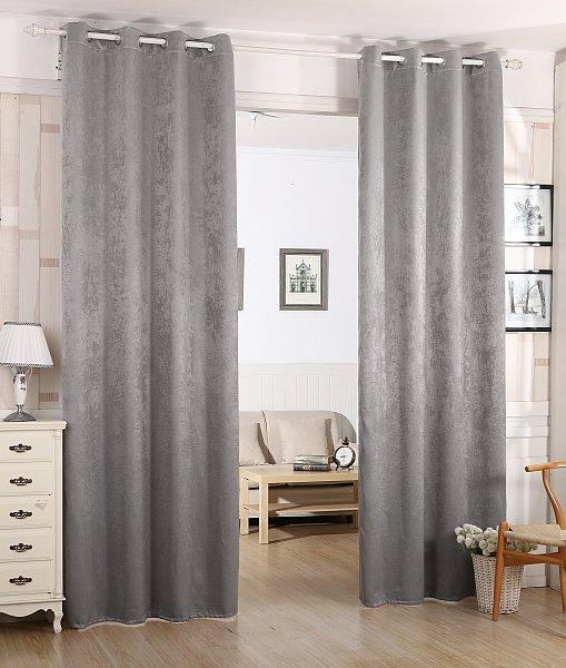 gardine blickdicht thermogardine verdunkelungsgardine schwere vorhang sen 340 ebay. Black Bedroom Furniture Sets. Home Design Ideas