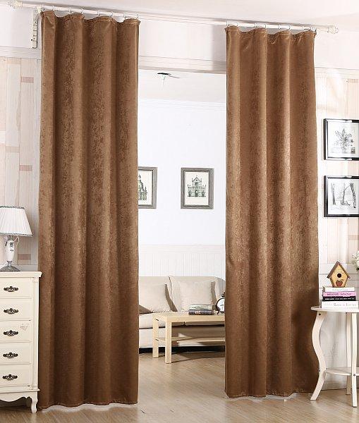 verdunklungsvorhang schwere vorhang mit kr uselband blickdicht 135x245 cm 192 ebay. Black Bedroom Furniture Sets. Home Design Ideas
