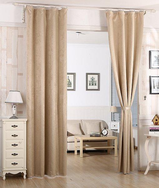 verdunklungsgardine vorhang mit kr uselband blickdicht gardine 135x245 cm 192 ebay. Black Bedroom Furniture Sets. Home Design Ideas
