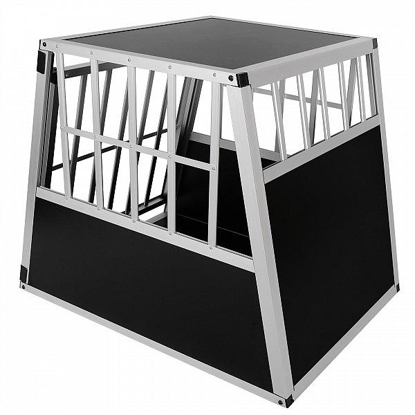 hundetransportbox hundebox autotransportbox alu reisebox. Black Bedroom Furniture Sets. Home Design Ideas