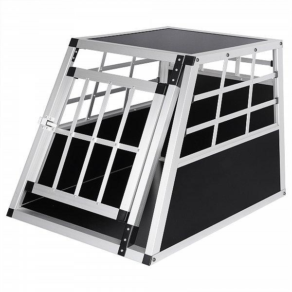hundetransportbox transportbox hundebox aluminium. Black Bedroom Furniture Sets. Home Design Ideas