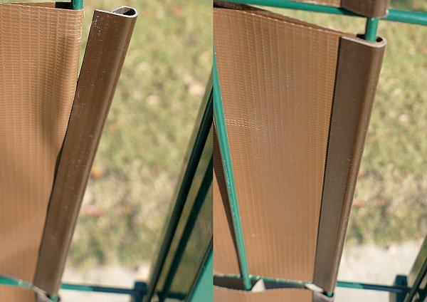 pvc sichtschutz windschutz garten balkon doppelstabmatten zaun blende folie 357. Black Bedroom Furniture Sets. Home Design Ideas