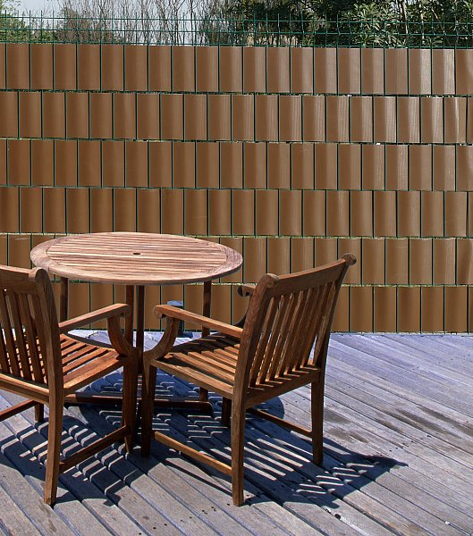 pvc sichtschutzstreifen doppelstabmattenzaun balkon garten zaun windschutz 357 ebay. Black Bedroom Furniture Sets. Home Design Ideas