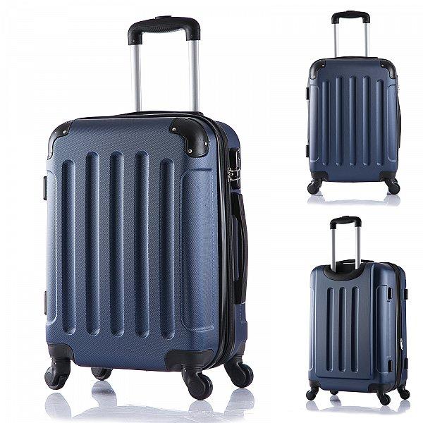 reisekoffer trolley hartschalen reise koffer mit 4 rollen. Black Bedroom Furniture Sets. Home Design Ideas