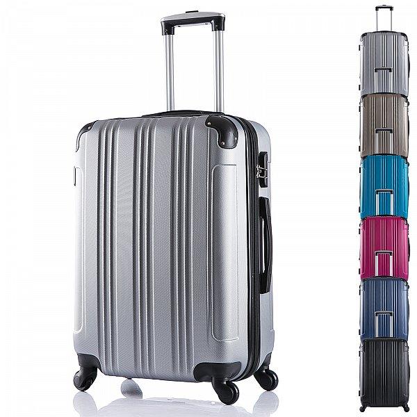 reisekoffer harschale handgep ck reise koffer trolley 4. Black Bedroom Furniture Sets. Home Design Ideas