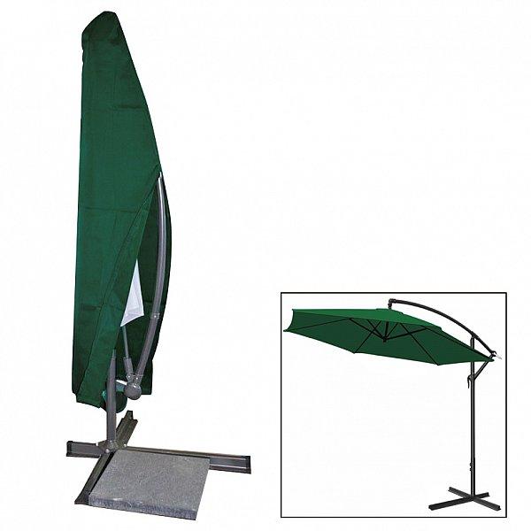 schutzh lle abdeckhaube f r gartenschirm sonnenschirm ampelschirm gr n gz1163 ebay. Black Bedroom Furniture Sets. Home Design Ideas