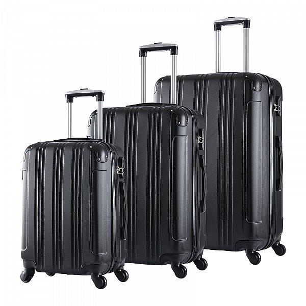 hartschalenkoffer reise koffer trolley set 4 rollen. Black Bedroom Furniture Sets. Home Design Ideas