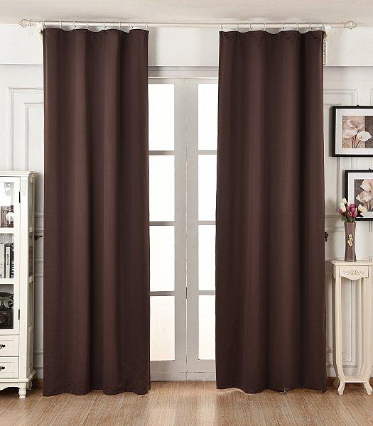 gardine verdunkelung blickdicht thermogardine mit kr uselband vorhang matt 489 ebay. Black Bedroom Furniture Sets. Home Design Ideas