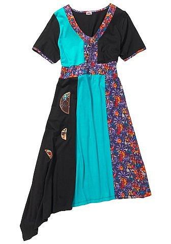 joe browns 207 patchwork kleid gr 40 42 44 46 48 50 52 54 56 58 sommerkleid ebay. Black Bedroom Furniture Sets. Home Design Ideas