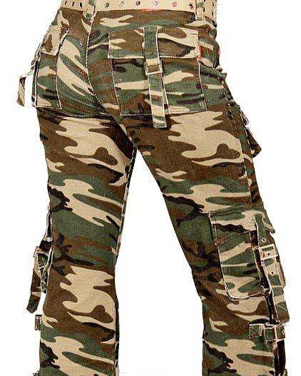 damen cargo hose camouflage tarnhose army milit r kampfhose ebay. Black Bedroom Furniture Sets. Home Design Ideas