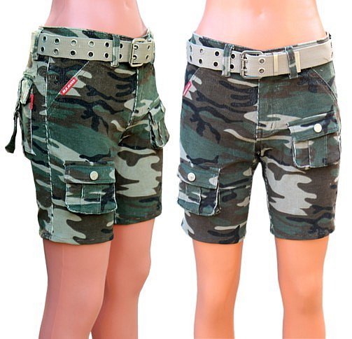kinder safari hose camouflage hotpants tarnhose cargohose army gr n caprihose ebay. Black Bedroom Furniture Sets. Home Design Ideas