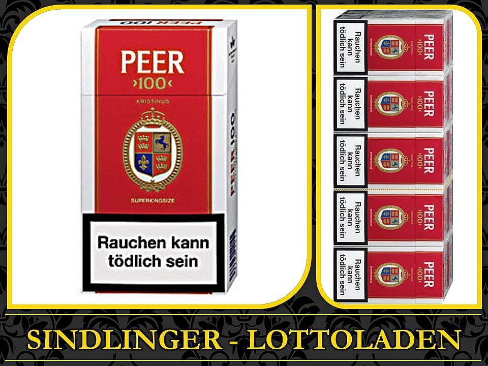 stange peer 100 zigaretten neu ovp tabak 10 schachtel. Black Bedroom Furniture Sets. Home Design Ideas