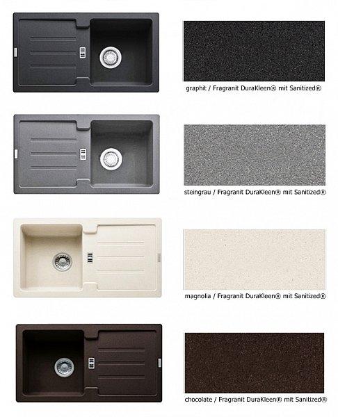 franke fragranit sp le 78 x 43 5 granit 4 farb granitsp le einbau k che ebay. Black Bedroom Furniture Sets. Home Design Ideas