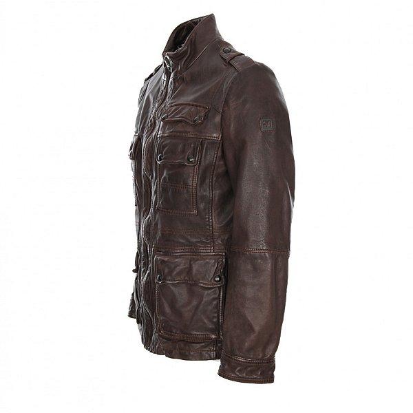 herren lederjacke hugo boss jump jacke leather jacket men in schwarz oder braun ebay. Black Bedroom Furniture Sets. Home Design Ideas