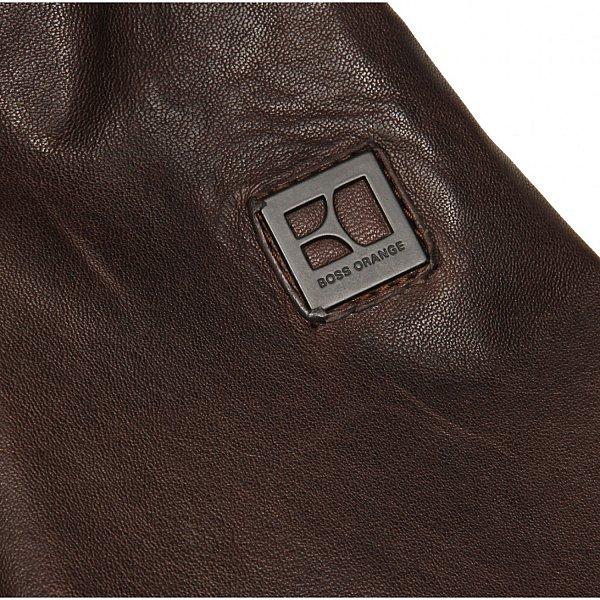 herren lederjacke hugo boss jump jacke leather jacket men in schwarz. Black Bedroom Furniture Sets. Home Design Ideas