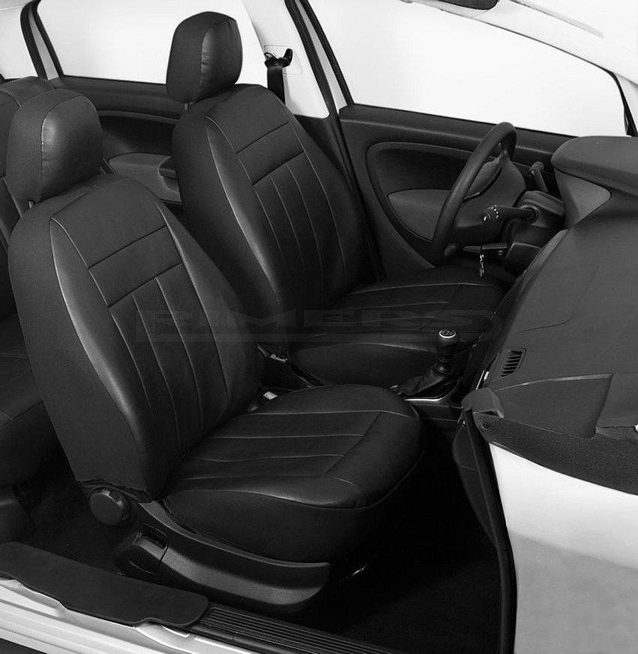 universal autositzbez ge sitzbez ge kunstleder schwarz ebay. Black Bedroom Furniture Sets. Home Design Ideas