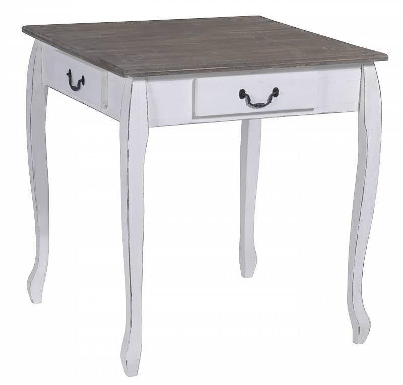 konsolentisch tisch beistelltisch shabby chic 70 x 70 x 75 cm 2 3 wahl ebay. Black Bedroom Furniture Sets. Home Design Ideas
