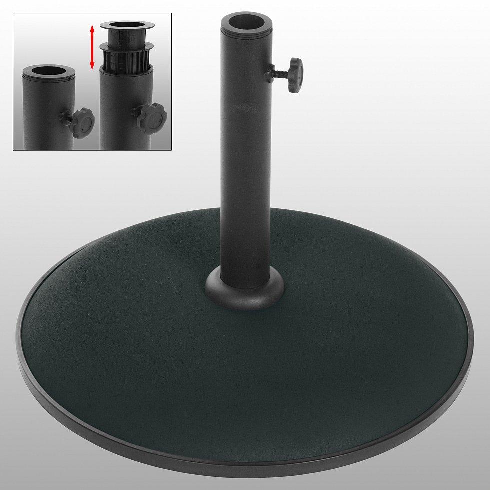 schirmst nder schirmhalter st nder sonnenschirmst nder schirmfu 25 kg c100 ebay. Black Bedroom Furniture Sets. Home Design Ideas