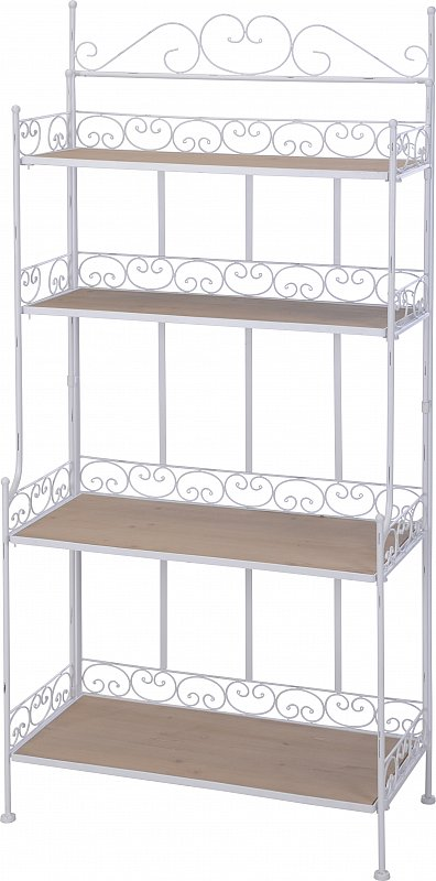 gartenregal pflanzenregal blumenregal blumenbank pflanztreppe wei 132 cm h090 ebay. Black Bedroom Furniture Sets. Home Design Ideas