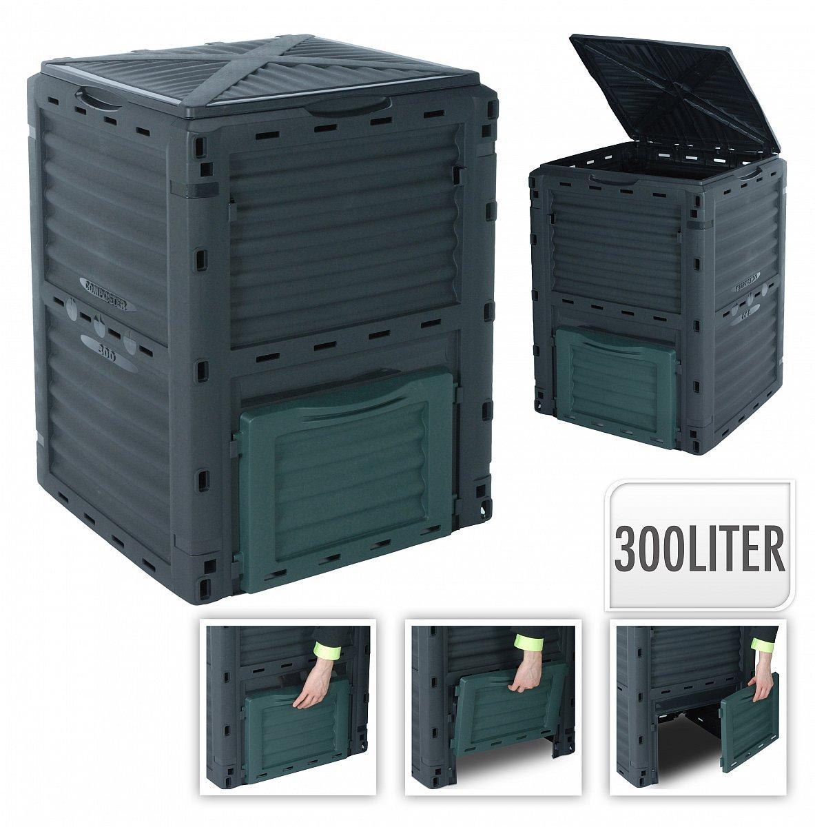 komposter thermokomposter schnellkomposter gartenkomposter 300 ltr y860 ebay. Black Bedroom Furniture Sets. Home Design Ideas