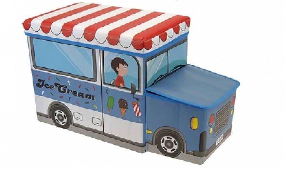 Spielzeugkiste spielzeugbox aufbewahrungsbox bank for Kinderzimmer unordnung