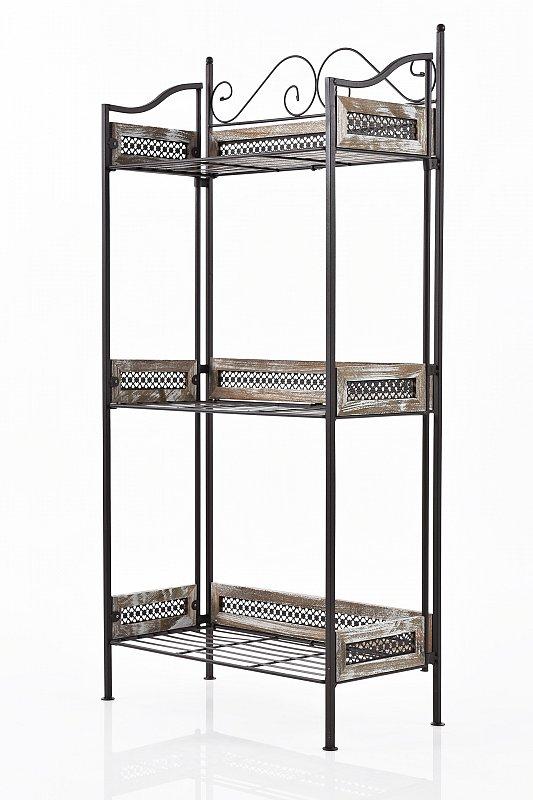 gartenregal blumenregal blumenbank blumentreppe. Black Bedroom Furniture Sets. Home Design Ideas