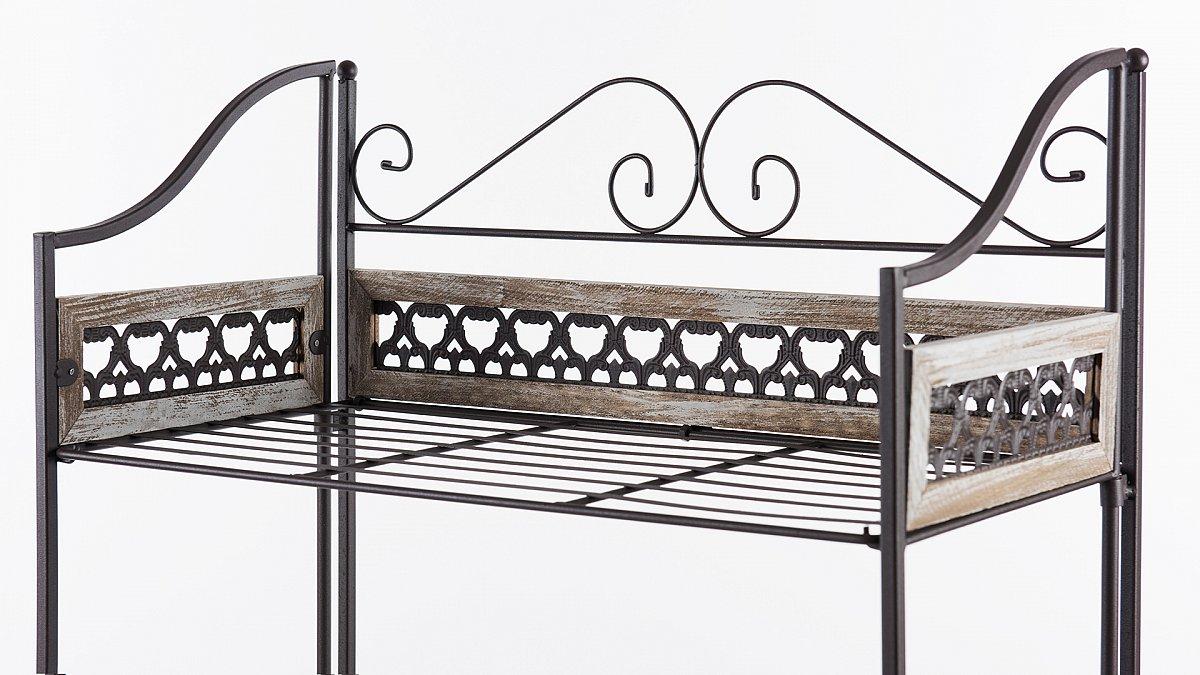 gartenregal pflanzenregal blumenregal blumenbank. Black Bedroom Furniture Sets. Home Design Ideas