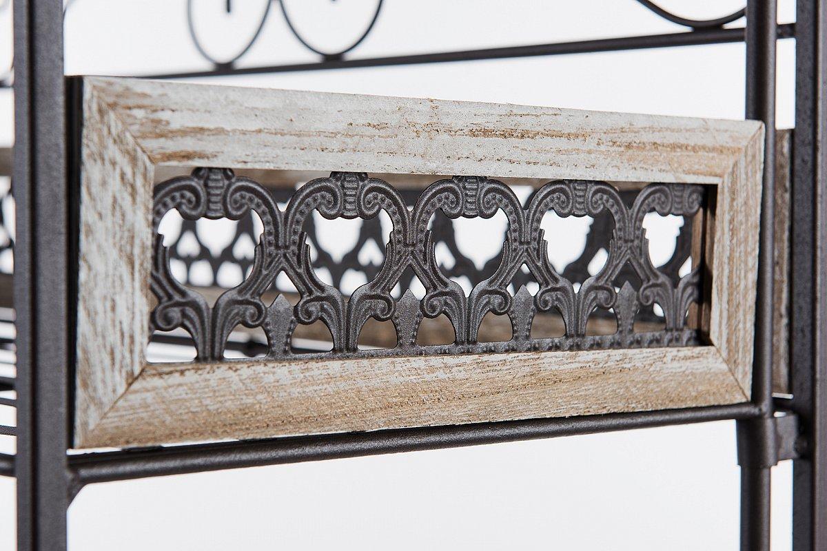 Gartenregal Pflanzentreppe Blumentreppe Blumenregal Variation ... Blumentreppe Holz Metall Pflanzentreppe