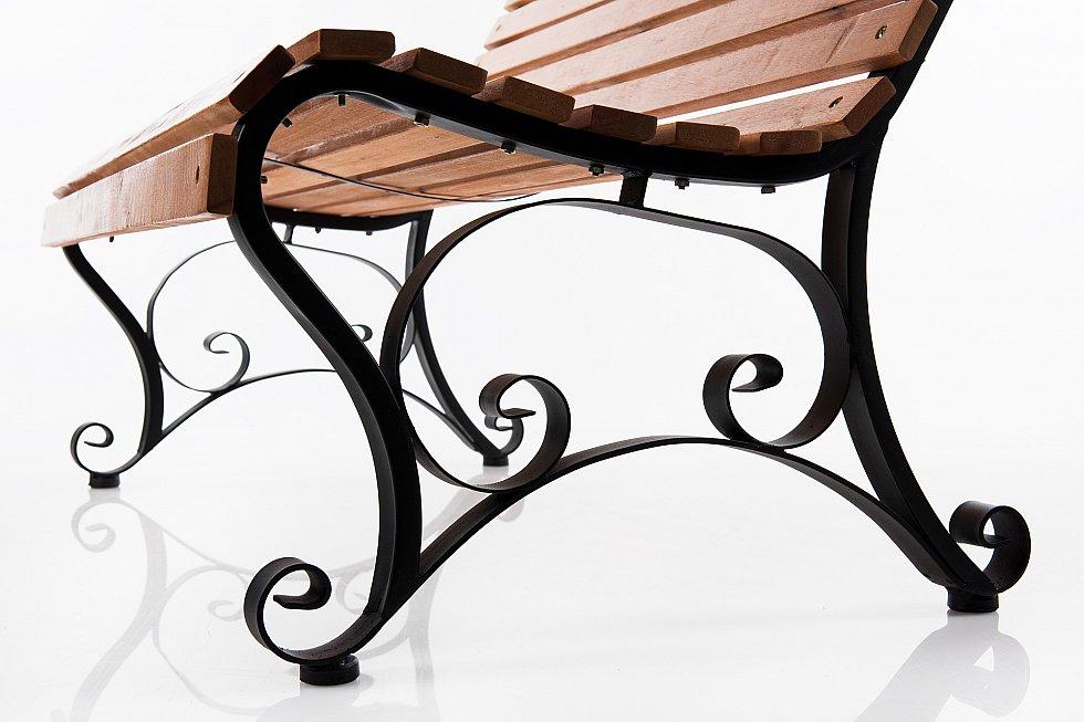 gartenbank bank parkbank holzbank sitzbank metall holz. Black Bedroom Furniture Sets. Home Design Ideas