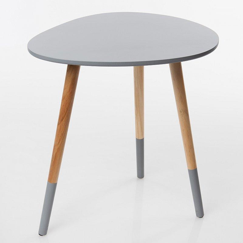 beistelltisch couchtisch ablagetisch tisch c140 variation nierentisch 50x48cm ebay. Black Bedroom Furniture Sets. Home Design Ideas