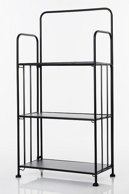 regal standregal klappregal gartenregal metall 3 ebenen. Black Bedroom Furniture Sets. Home Design Ideas