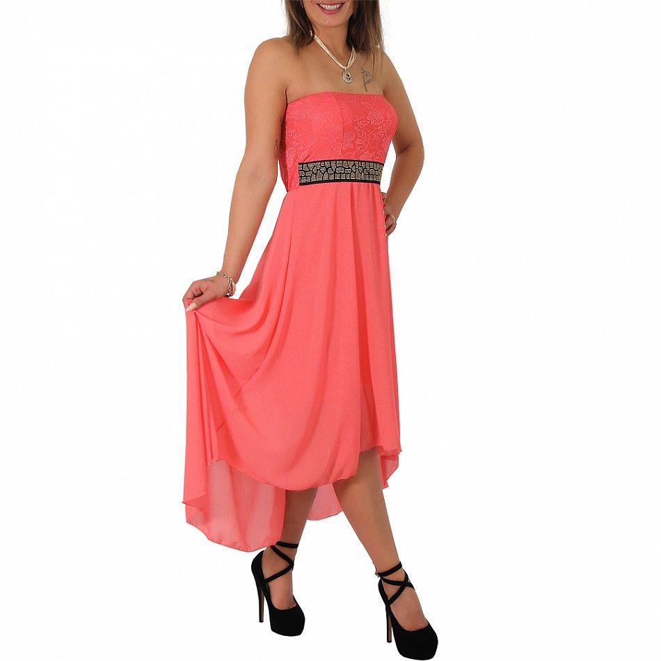 Chiffon minikleid vokuhila bandeau kleid cocktailkleid tanzkleid abendkleid ebay - Vokuhila kleid chiffon ...