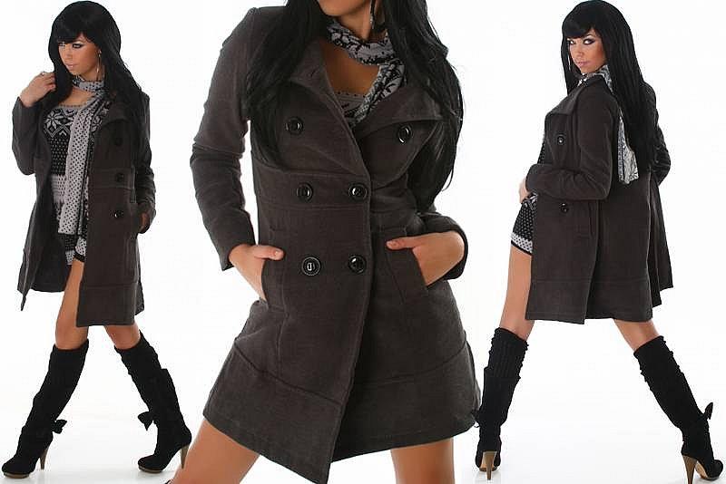 Gothic Cordmantel schwarz Lässiger Damenmantel im Alternativen Stil. Der Gothic Mantel ist in seinem Design recht schlicht gehalten und wirkt durch das Cord Gewebe eher lässig, passt aber wegen die kleinen Details perfekt zu den verschiedensten Gothic und Steampunk Stylings.