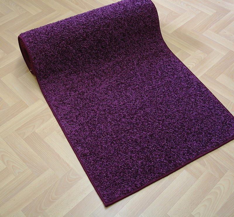 shaggy teppich l ufer hochflor kreusel 65cm breit 7 gr en kaffee braun ebay. Black Bedroom Furniture Sets. Home Design Ideas