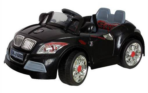 kinder elektro auto cabrio schwarz 12v 70w mit. Black Bedroom Furniture Sets. Home Design Ideas