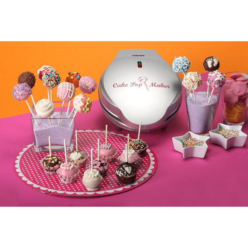 cake pop maker inkl sticks rezepte popcake cake pops maker cupcake maschine ebay. Black Bedroom Furniture Sets. Home Design Ideas