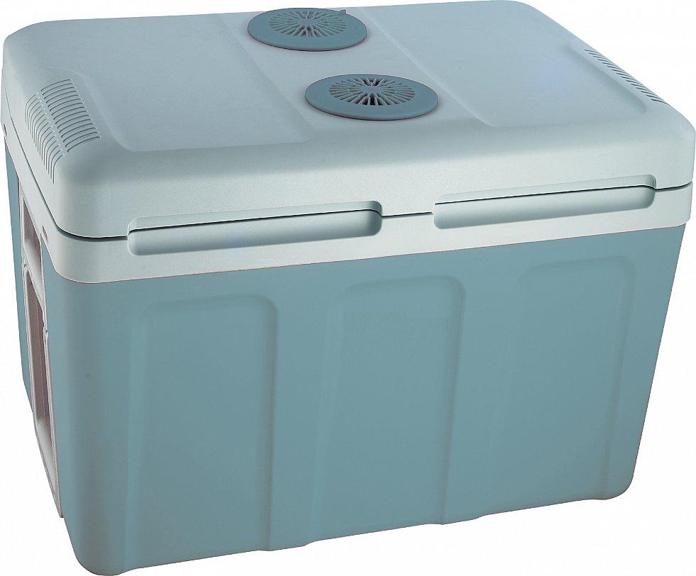gro e 45 liter k hlbox f r auto und steckdose elektrische camping k hl thermobox ebay. Black Bedroom Furniture Sets. Home Design Ideas
