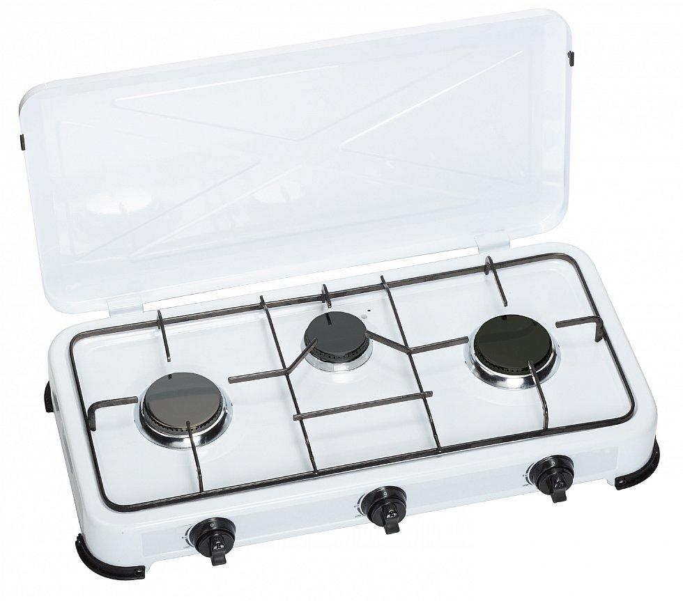 gas herd kocher campingkocher gaskocher 3 flammig 30mbar propangas gasherd neu ebay. Black Bedroom Furniture Sets. Home Design Ideas