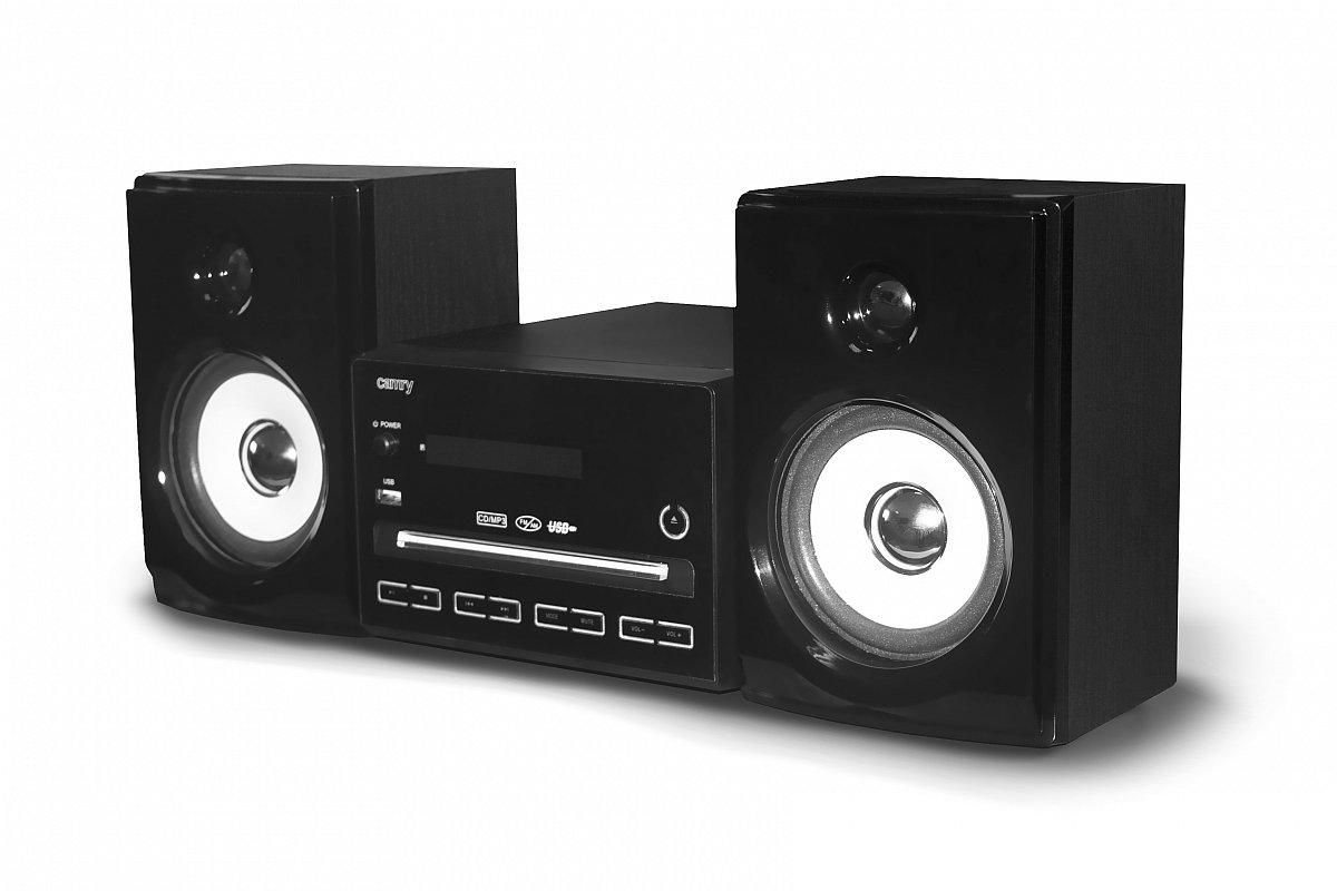 design kompaktanlage stereoanlage usb radio mp3 player hifi musikanlage ebay. Black Bedroom Furniture Sets. Home Design Ideas