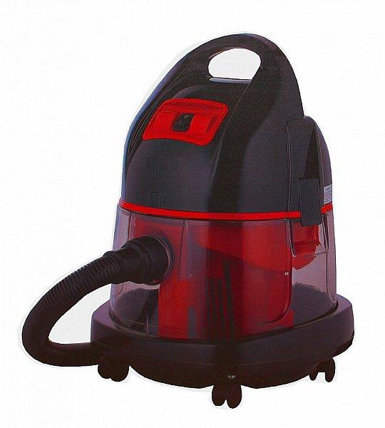 wasserstaubsauger nass trocken boden staubsauger wasserfilter watt rot neu. Black Bedroom Furniture Sets. Home Design Ideas